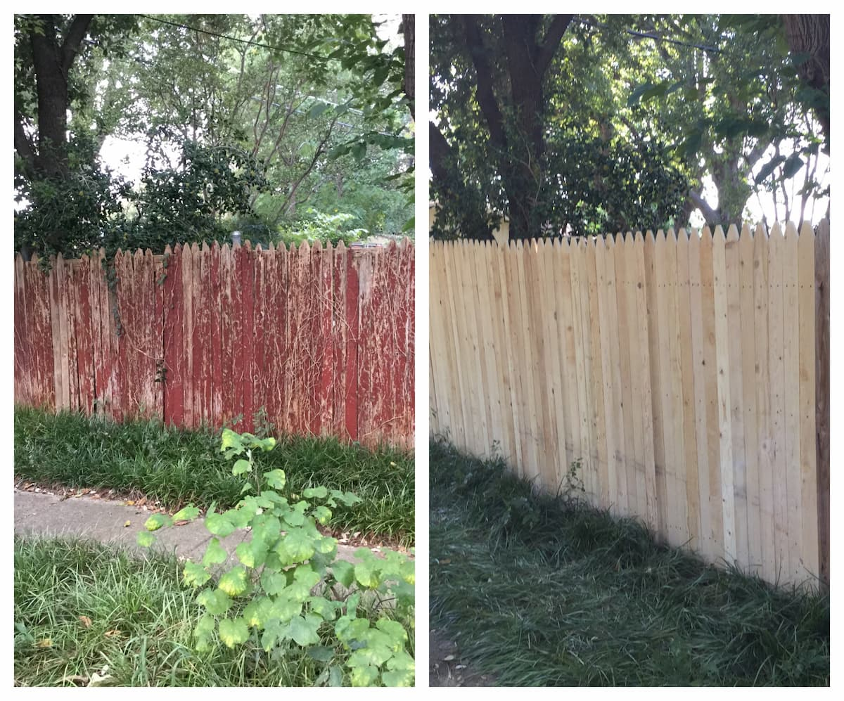 Mr. Handyman fence repair services