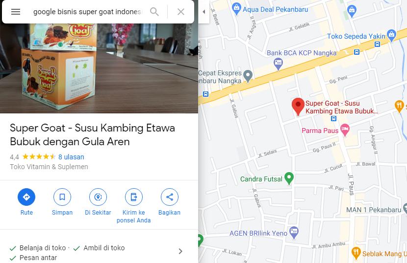 channel branding dan marketing Google Business