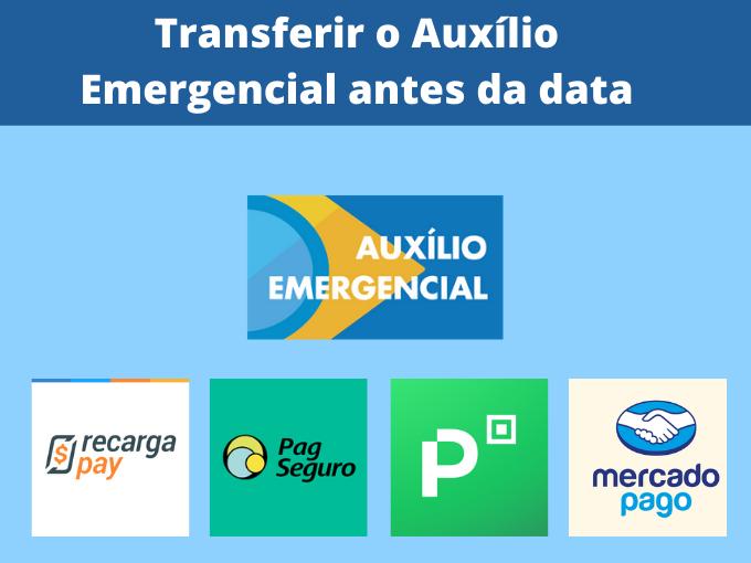 Como transferir Assistência de Emergência antes da data