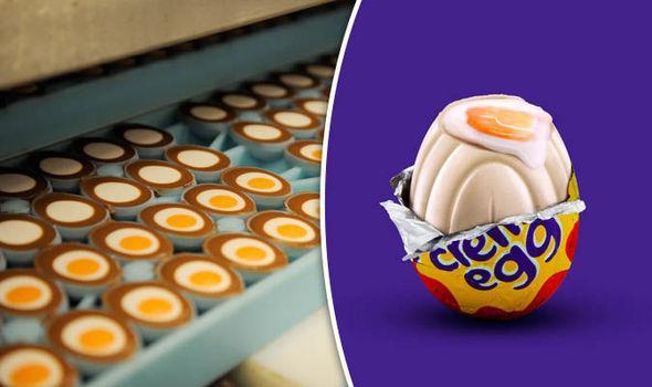 Image result for White Cadbury's Creme Egg