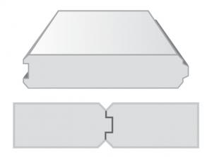 Tấm Panel ALC Ngàm T, Không lưới thép