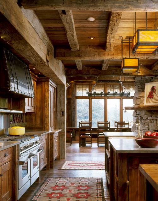 Contemporáneo Diseños De Cocina Para Casas De Estilo Rancho Adorno ...