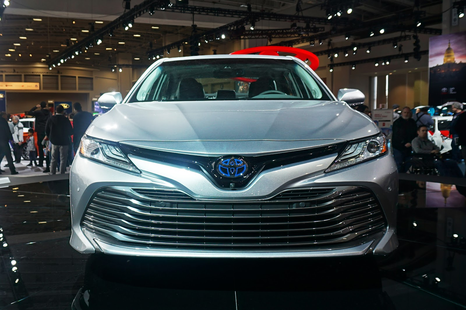 File 2018 Toyota Camry Hybrid Was 2017 1727 Jpg Wikimedia Commons