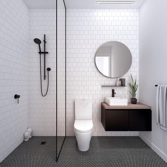 การจัดตกแต่งห้องน้ำ