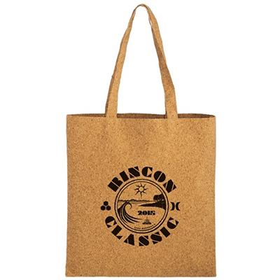 Trendy Cork Bag 15x16 Screen Print