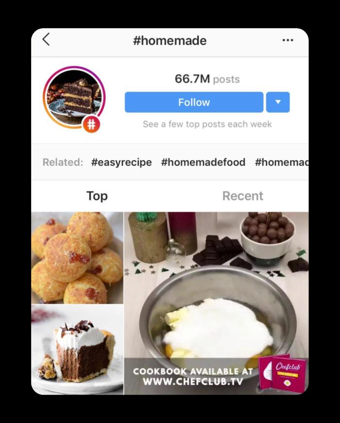 trending instagram hashtags for food