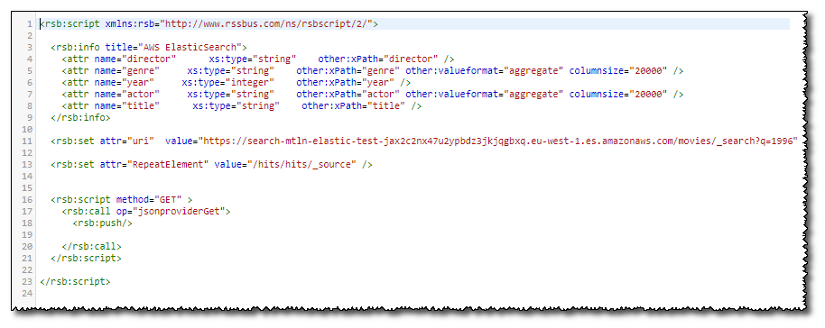 Matillion | Ingesting AWS ElasticSearch Data via the