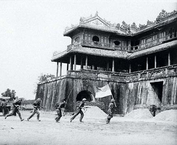 Liberation Army entered the Citadel in the Tet Mau Than