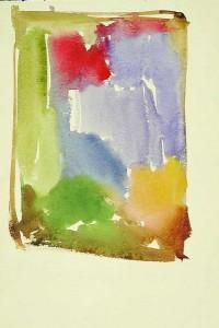 Hans Hartung, Sans titre, 1922, aquarelle sur papier, Fondation Hartung-Bergman, Antibes
