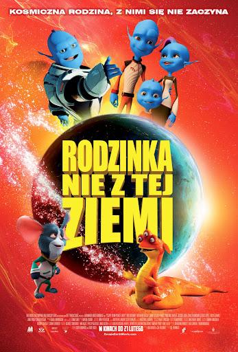 Polski plakat filmu 'Rodzinka Nie Z Tej Ziemi'