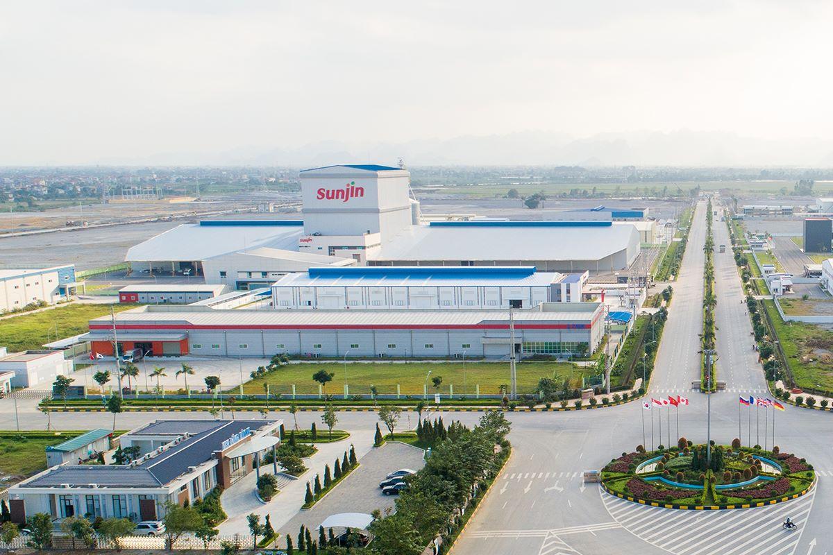 Cơ sở hạ tầng đã được đầu tư tại khu công nghiệp 3 Đồng Văn