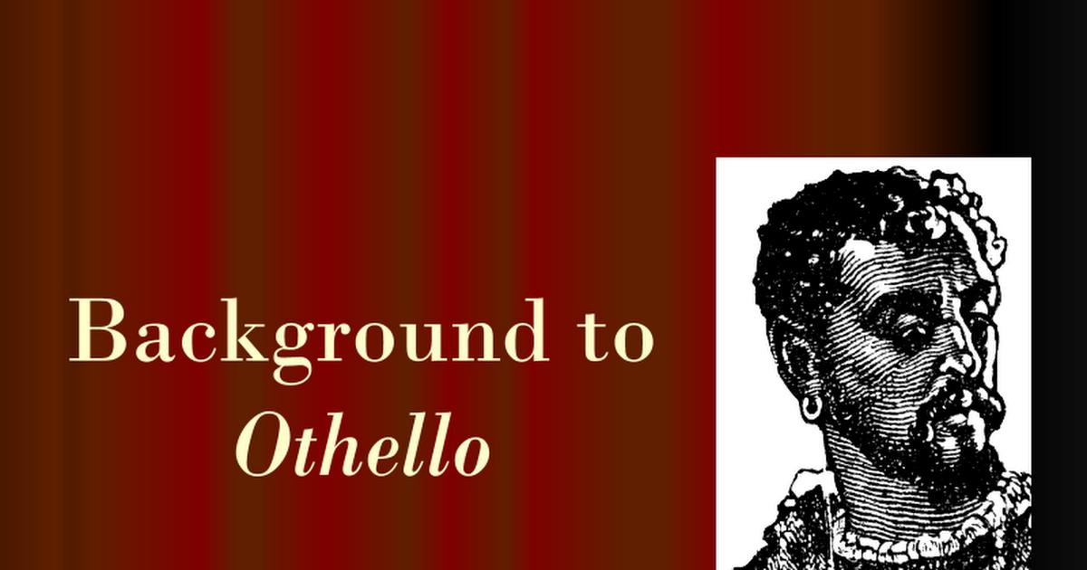 othello as a tragic hero thesis