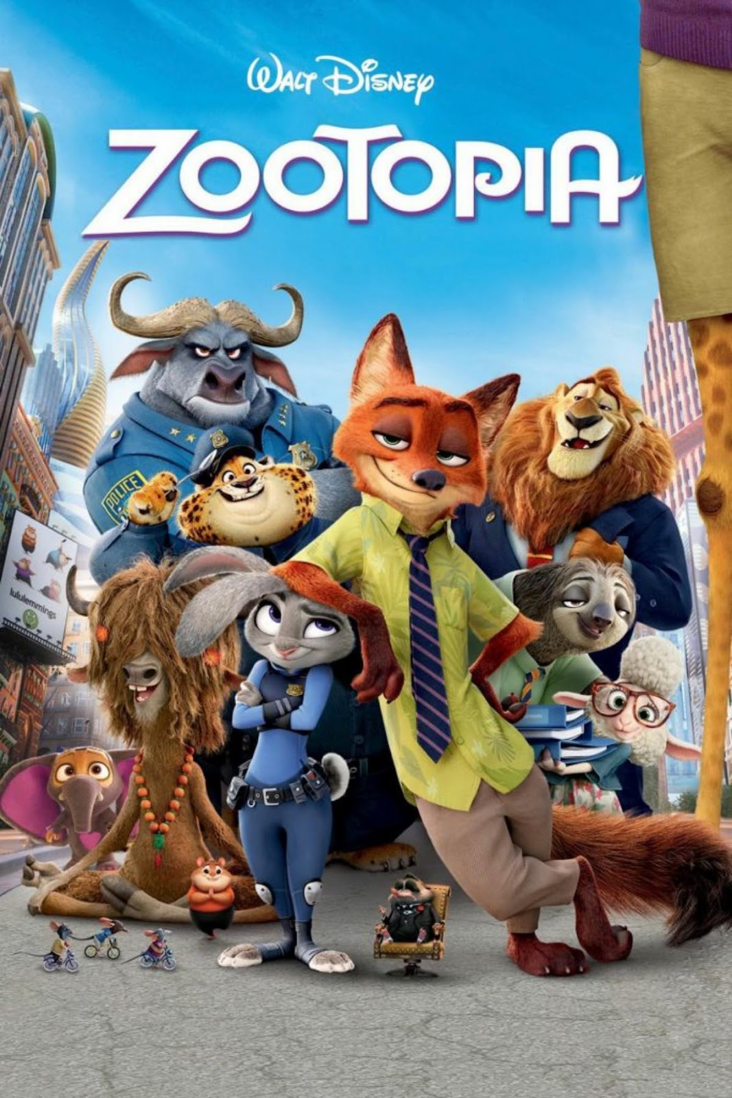 Zootopia – Where every animal lives in peace