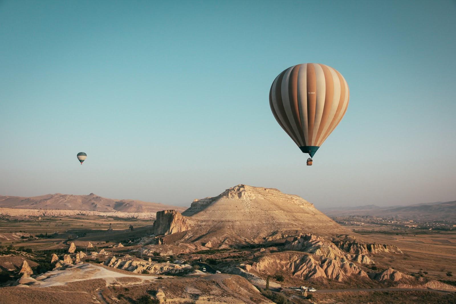 Cappadocia, Balloon flight, Turkey,