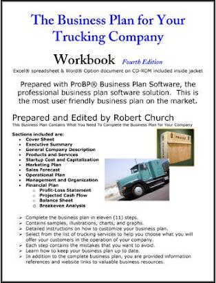 Free Sample Of Haulage Business Plan