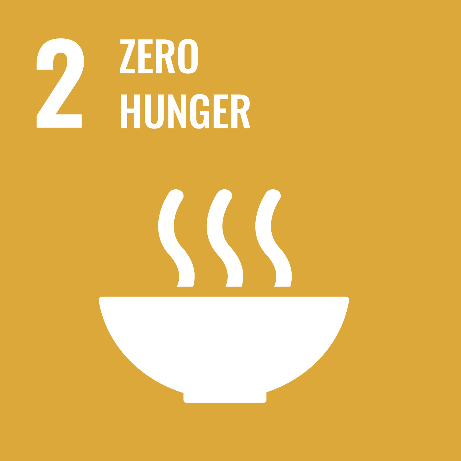 Sustainable Development Goal 2. End hunger, achieve food security and improved nutrition and promote sustainable agriculture.
