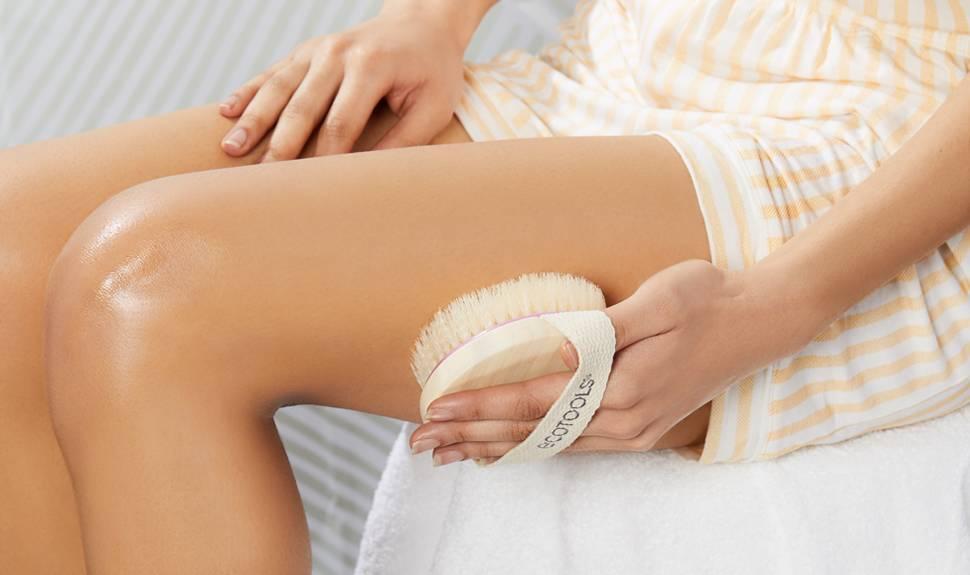 Scrub for Smooth Legs