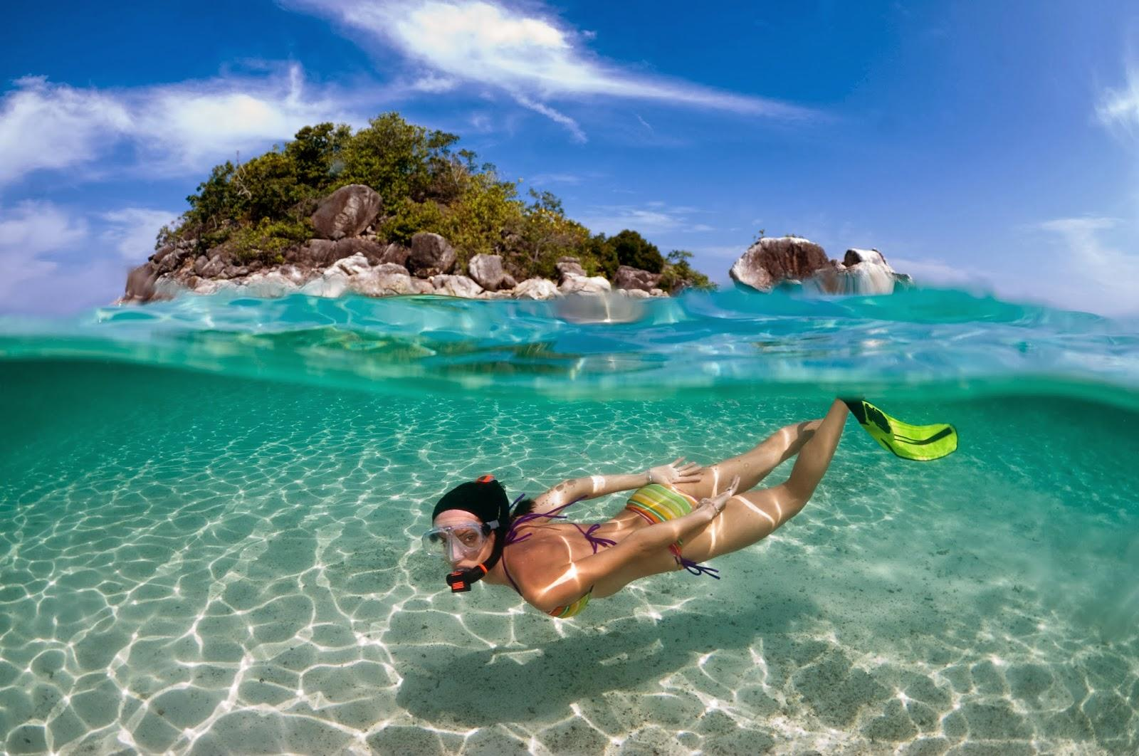 Resultado de imagem para mergulho de snorkel