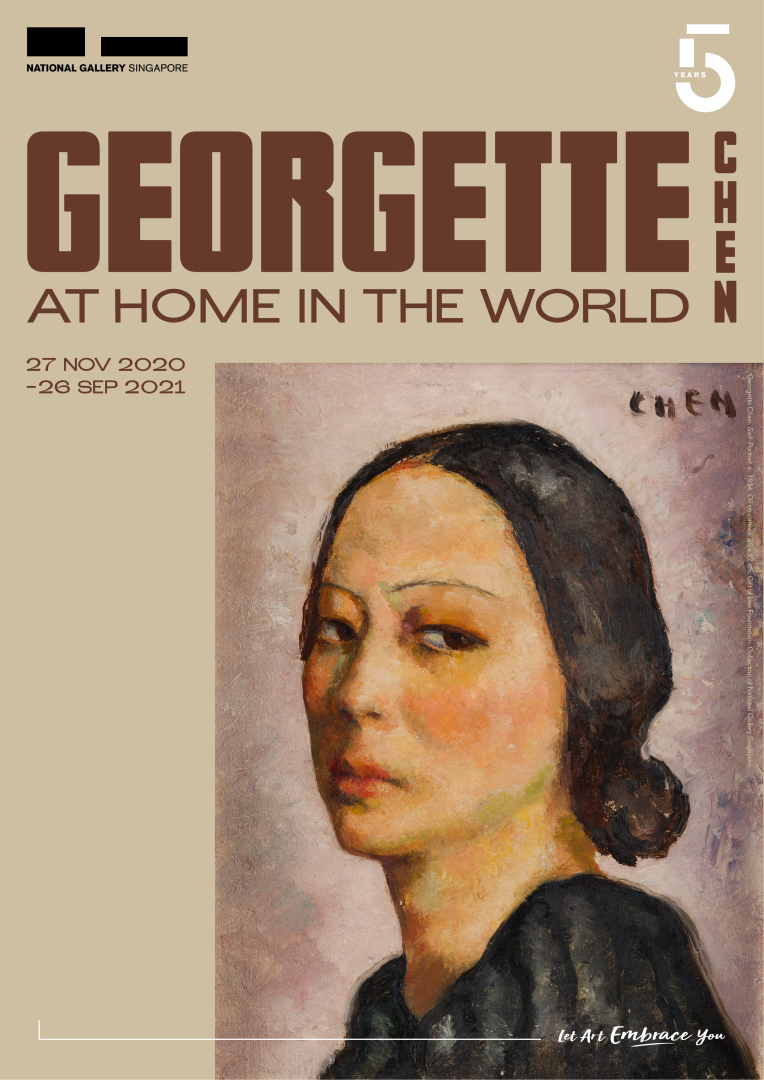 Many artworks of Georgette Chen  will be featured at the upcoming exhibit at the National Gallery Singapore.