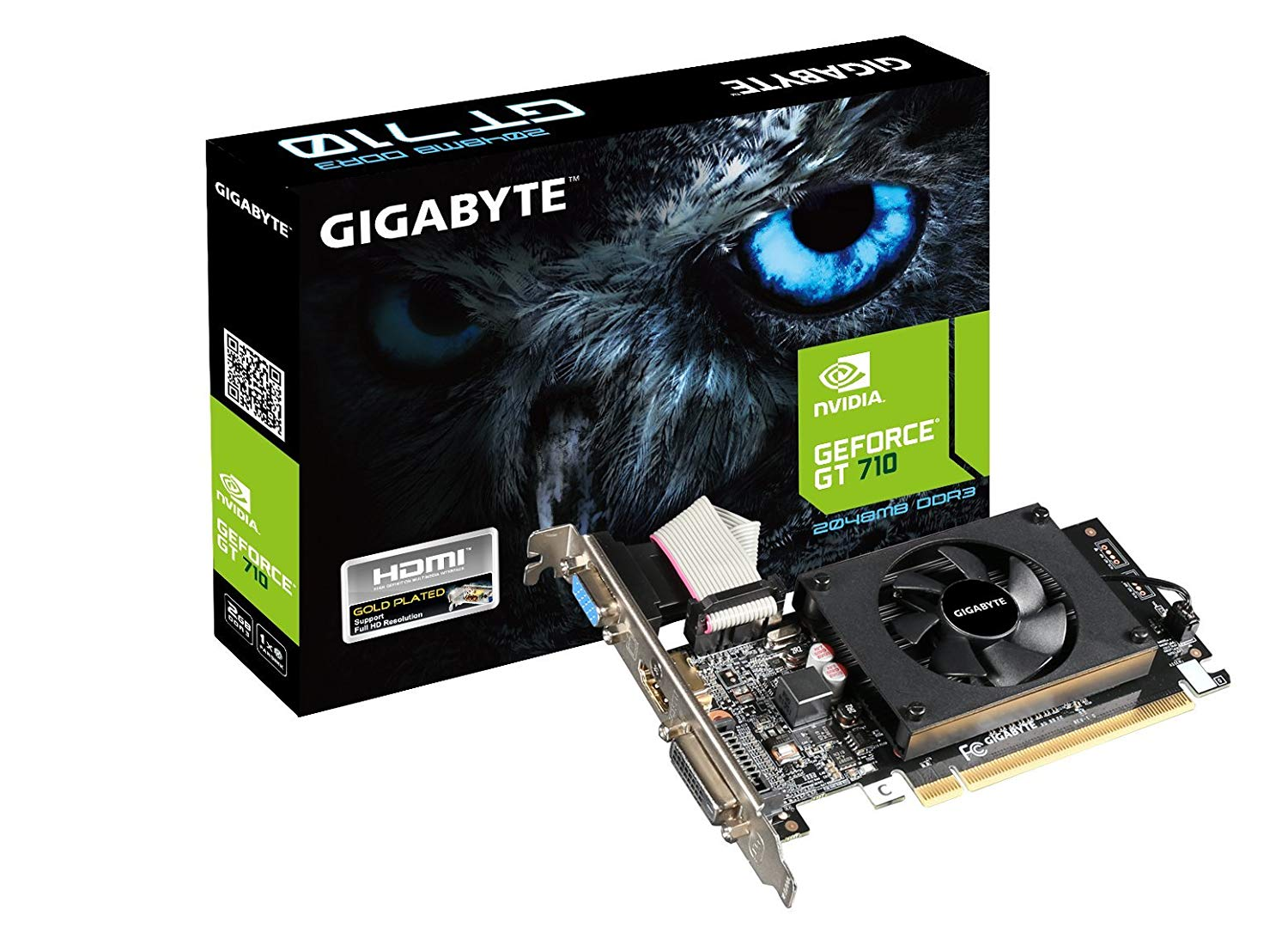 Gigabyte GeForce GV-N710D3-2GL 2GB Graphics Card