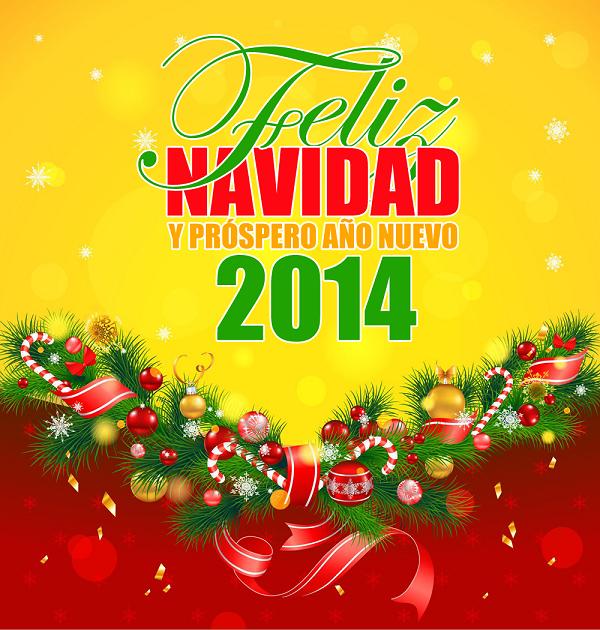 Próspero año nuevo 2014