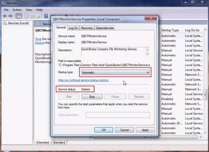 Quickbooks error code 6144 82 services