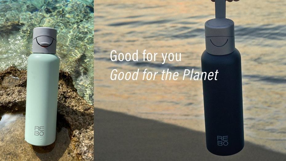 REBO water bottle