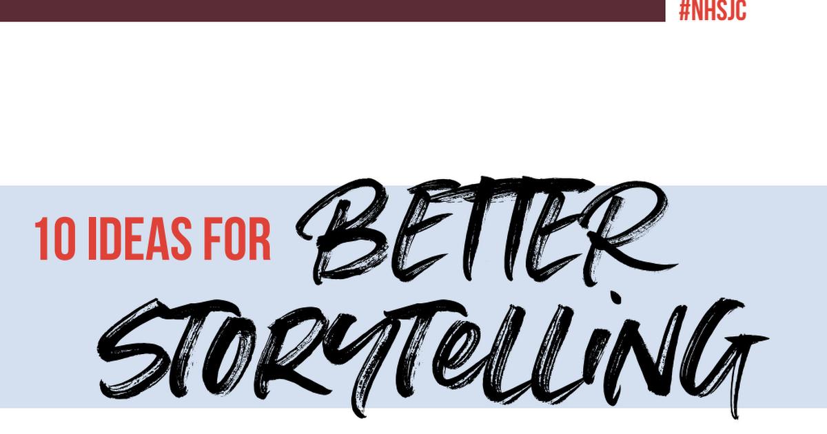 10 ideas for better storytelling.pdf