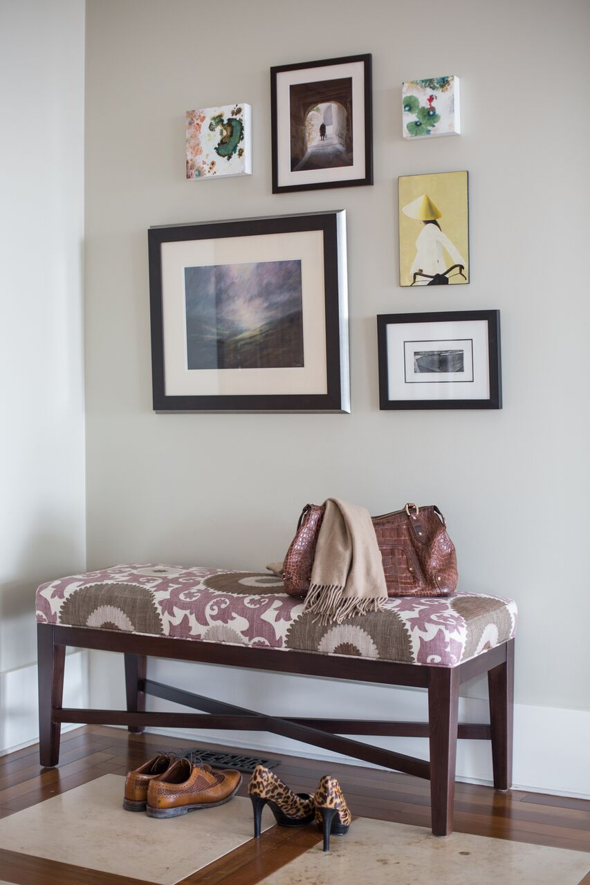 leanne-bunnell-interior-design-calgary-how-to-start-art-collection-mix-mediums