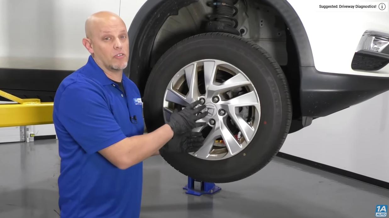 Wheel on the 4th gen Honda CR-V