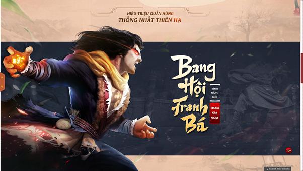 Thiên Long Game4You tung Landing page cho máy chủ mới 4Gamer 6