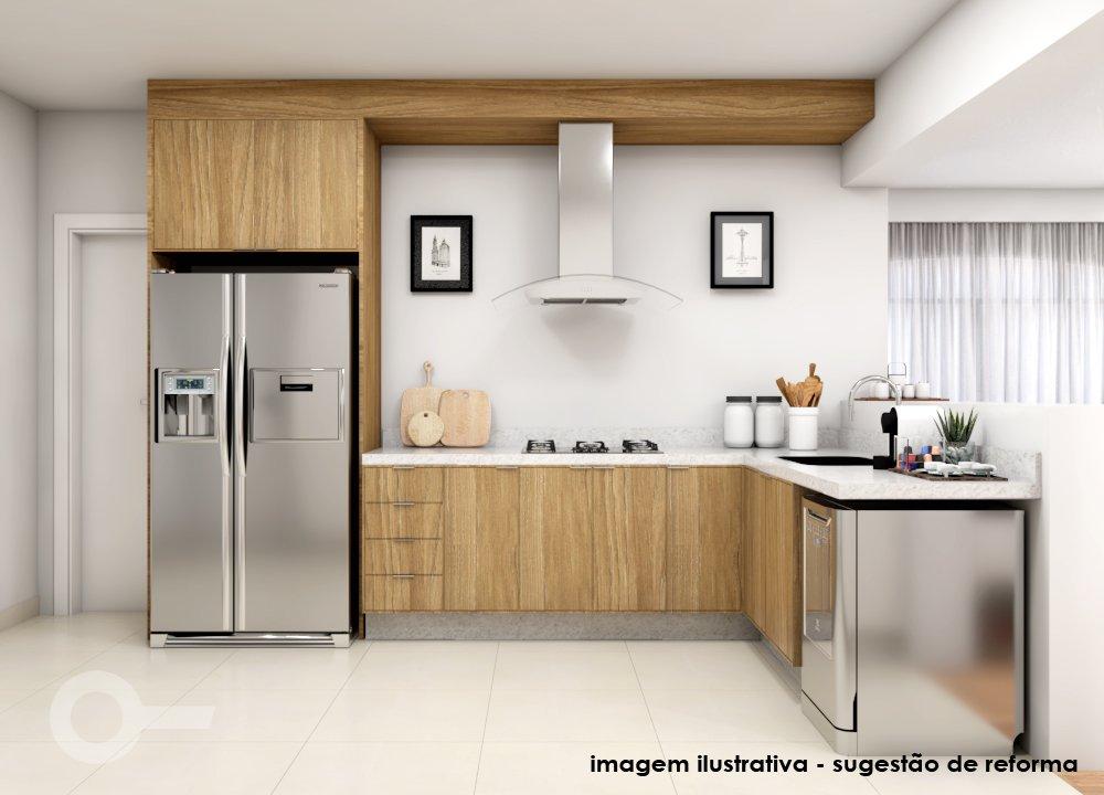 projeto para cozinha em apartamento no Jardim América