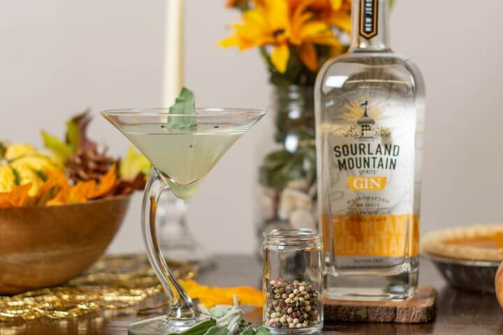 Sage Gimlet by Sourland Mountain Spirits