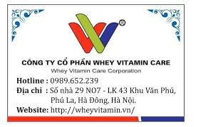 Whey vitamin care
