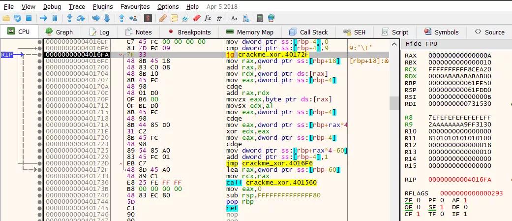 Kỹ thuật dịch ngược cho người mới bắt đầu - Mã hóa  XOR - Windows x64  - Ảnh 7.