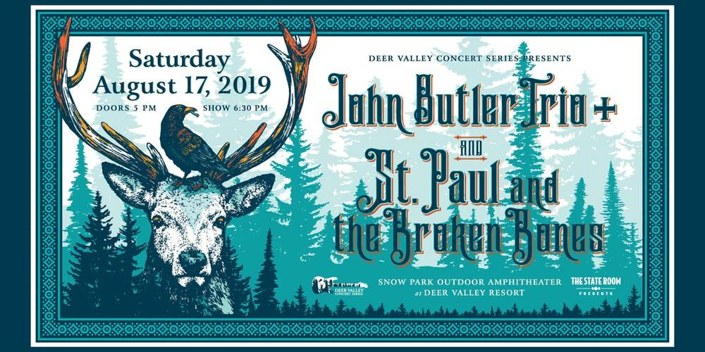 Image result for John Butler Trio & St. Paul and The Broken Bones