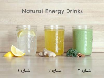 مواد لازم برای نوشیدنی های انرژی زا, انواع نوشیدنی های انرژی زا