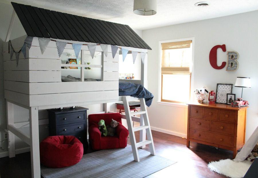 DIY Loft Bed for Kids