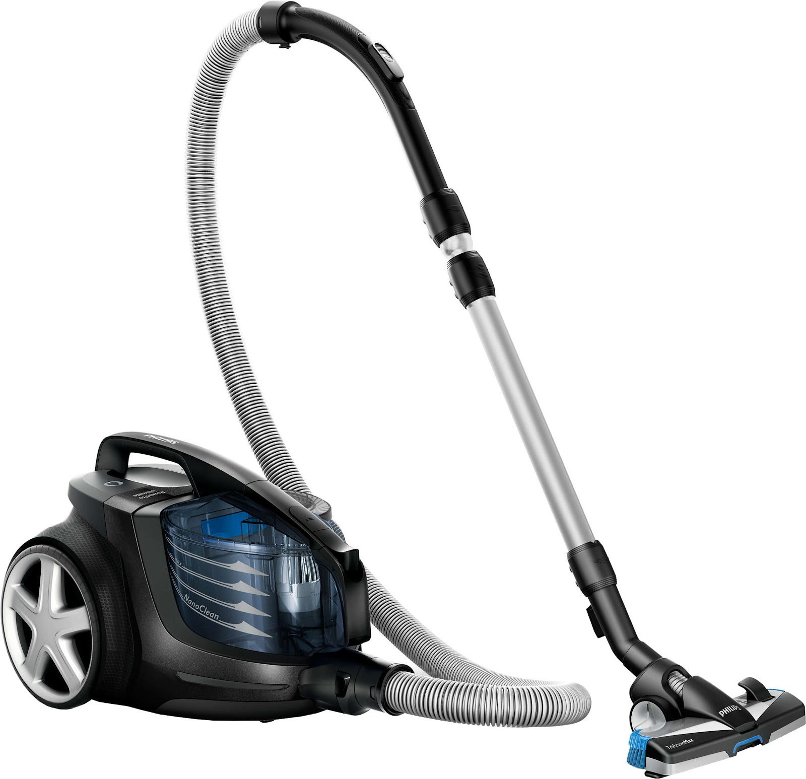 The Philips PowerPro Active comes with great suction power which captures even the most entrapped particles Source; Lazada.com