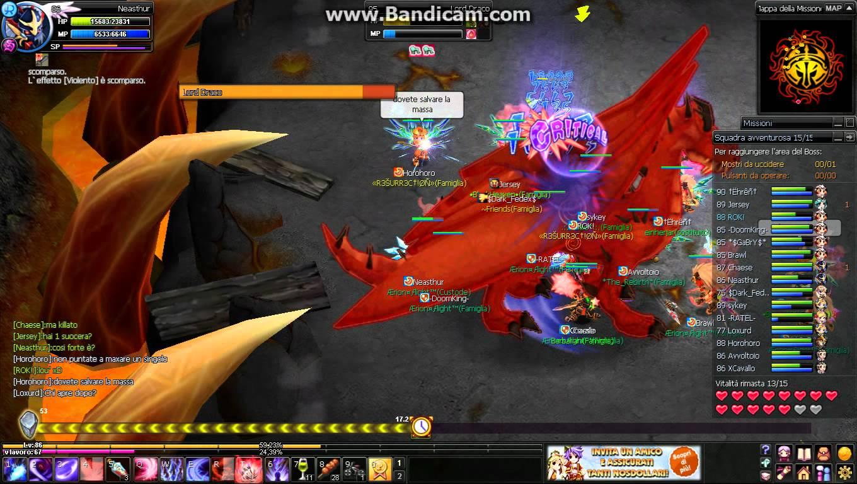 Le raid draco de Nostale