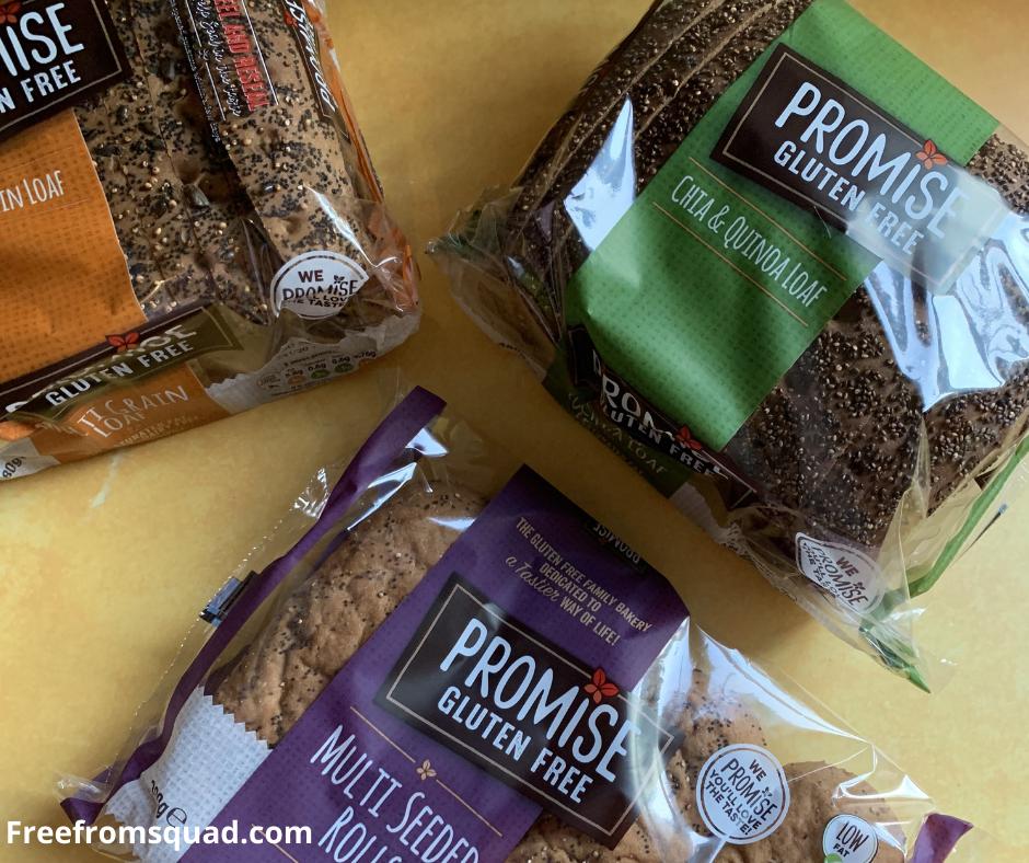 Promise gluten free bread