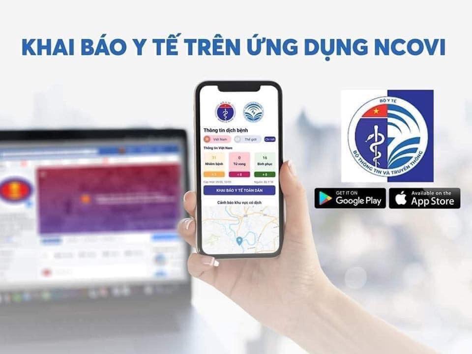 Khẩn trương triển khai Khai báo Y tế trên ứng dụng NCOVI