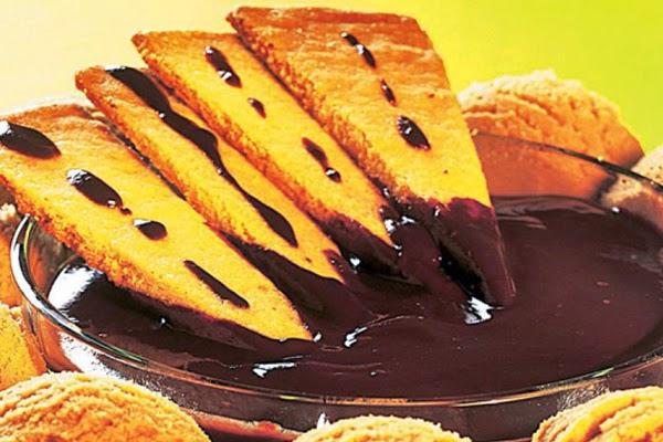 Sorvete de Café com Biscoito