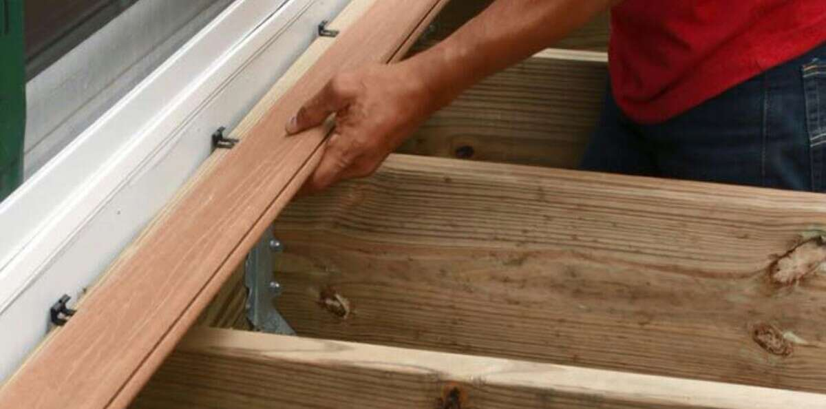 stop composite decking from getting damaged easily
