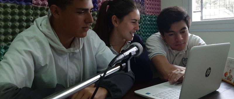Radio en Colegio Tierra del Sur en Pinamar