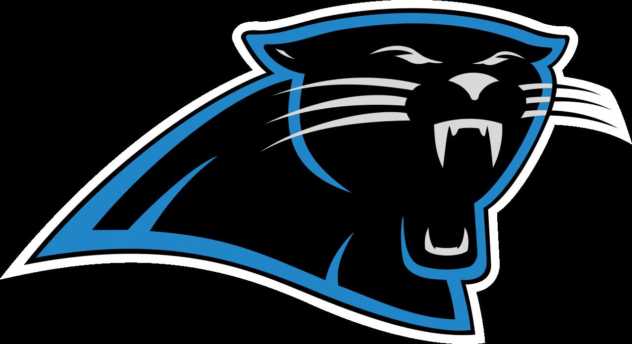 Image result for carolina panthers, logo, transparent