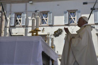 Chuyến viếng thăm của Đức Thánh Cha Phanxico đến các vùng bị động đất của Tổng Giáo phận Camerino-San Severino Marche