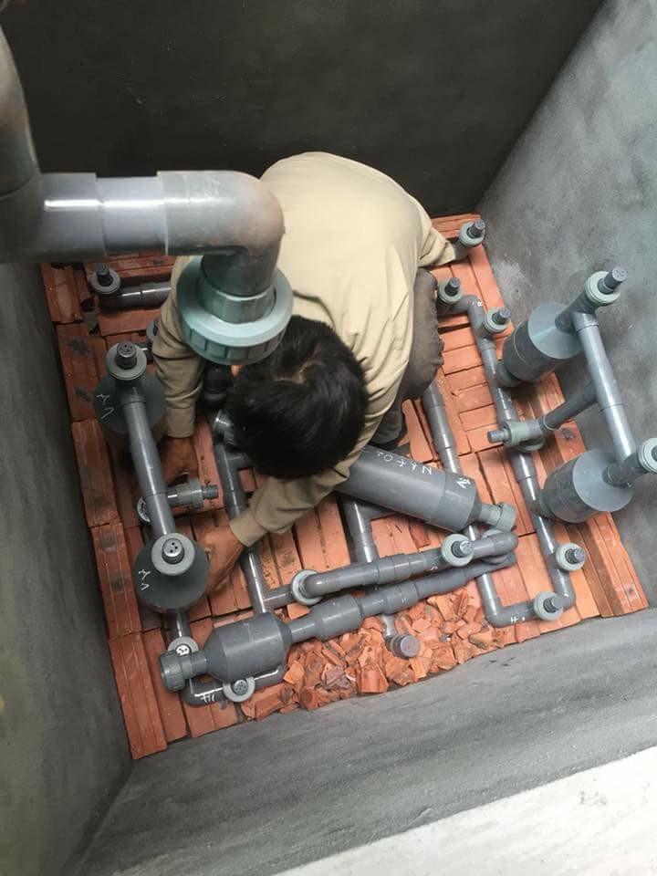 Xử lý nước giếng khoan bằng công nghệ MET tại Hà Nội
