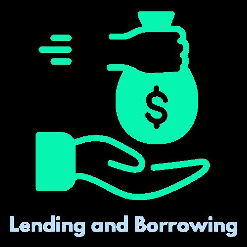 lending and borrowing
