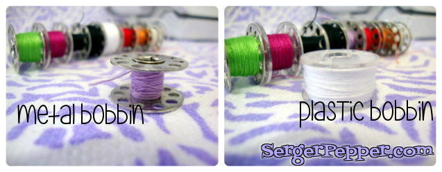 Serger Pepper Sew Basic Series Sewing Machine bobbins